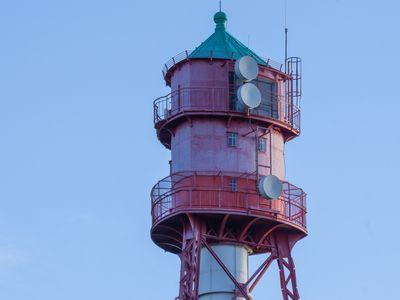 Bild Campener Leuchtturm Spitze