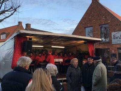 Bild Galerie Weihnachtsmarkt Lüttje Greetmer Wiehnachtsmarkt Bühne