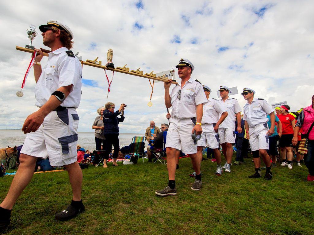 Bild Wettbewerbe Schlickschlittenrennen Wältmeisterschaft