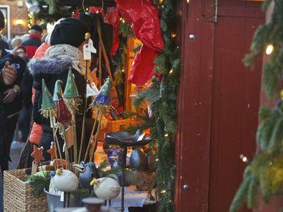 Bild Galerie Weihnachtsmarkt Lüttje Greetmer Wiehnachtsmarkt Bude