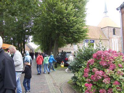 Bild Bauernmarkt Rysum Kirche