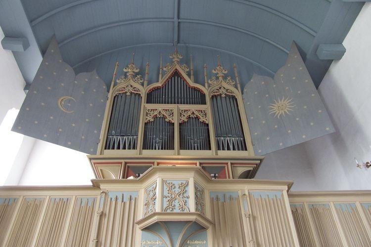Bild Sehenswürdigkeiten Orgel Rysum