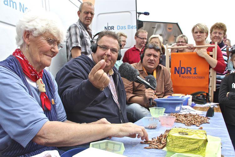Bild TV-Shows Krabbenpuhlwettbewerb