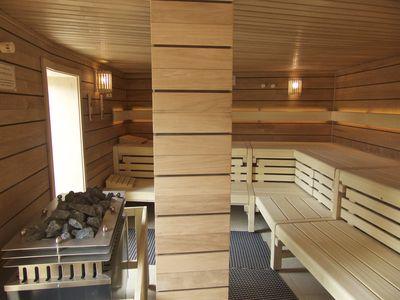 Bild Schwimmbad Oase Greetsiel Sauna innen