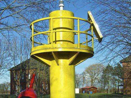 Bild Campener Leuchtturm Pegel
