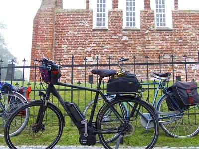 Bild Krummhörner Kirchturmtour Fahrräder