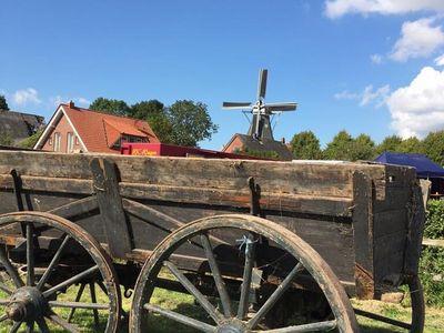 Bild Bauernmarkt Rysum Wagen
