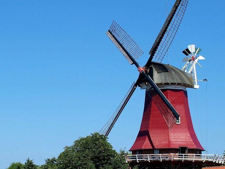 Bild Zwillingsmühlen Greetsiel Mühlenführung