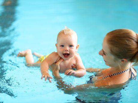 Bild Schwimmbad Oase Greetsiel Babyschwimmen