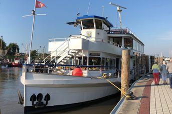 Graf Edzard I.: Ausflugsfahrten / Schifffahrt ab Hafen Greetsiel