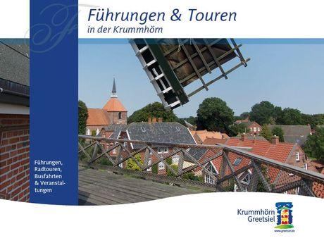 Titelbild Flyer Führungen und Touren