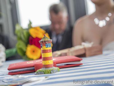 Bild Heiraten Figur Leuchtturm