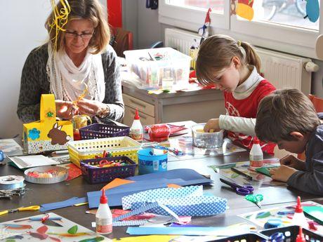 Bild Kinder und Familien Lükko Leuchtturm Bastelnachmittag