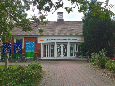 Bild Greetsieler Woche Eingangsbereich