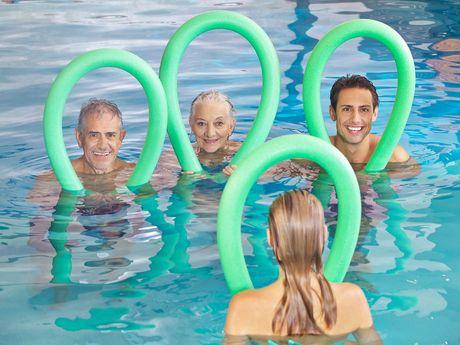 Bild Schwimmbad Oase Greetsiel Senioren