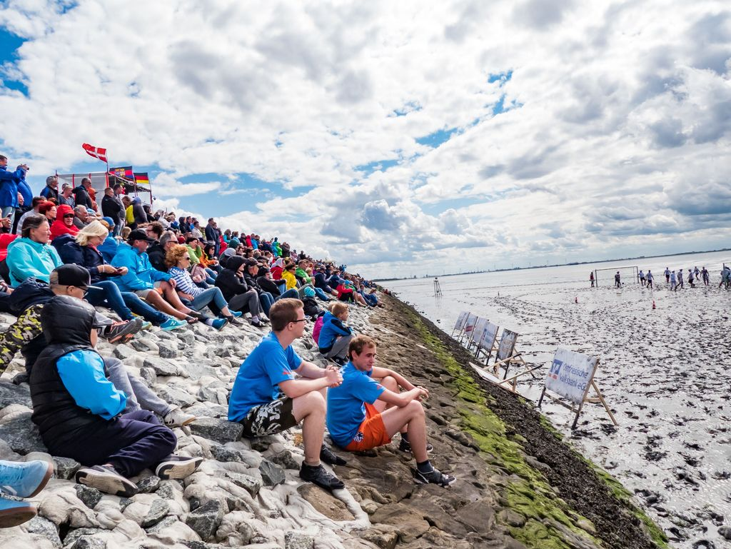 Bild Informationen für Zuschauer Schlickschlittenrennen Wältmeisterschaft