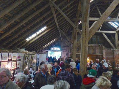 Bild Bauernmarkt Rysum Scheune