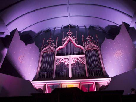Organ of the church in Rysum