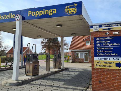 Bild der Tankstelle Poppinga in Greetsiel