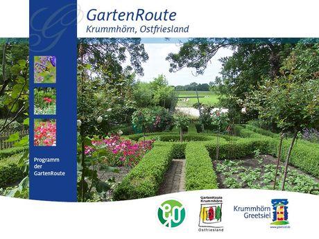 Bild Flyer Gartenroute