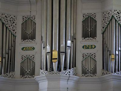 Bild Krummhörner Orgelfrühling Orgel