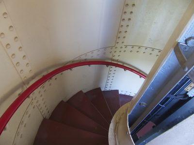 Bild Campener Leuchtturm Treppe