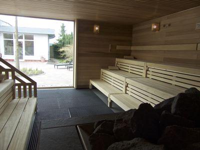 Bild Schwimmbad Oase Greetsiel Sauna Stein