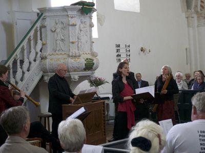 Bild Krummhörner Orgelfrühling Sänger
