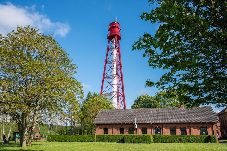 Sehenswürdigkeiten - Campener Leuchtturm