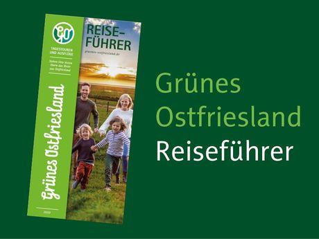 Bild Flyer Grünes Ostfriesland Reiseführer
