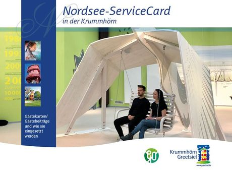 Bild Prospekte und Flyer Greetsiel Nordseeservice card