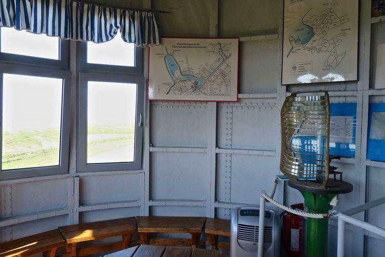 Bild historische Informationen Pilsumer Leuchtturm