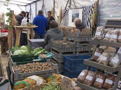 Bild Bauernmarkt Rysum Kartoffeln
