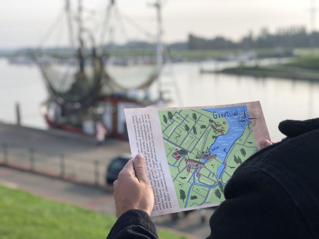 Bild Hero Entdeckungstour Greetsiel Hafen