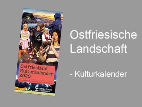 Bild Kulturkalender Ostfriesische Landschaft 2020