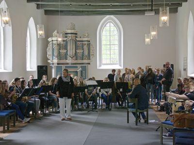 Bild Krummhörner Orgelfrühling Chor