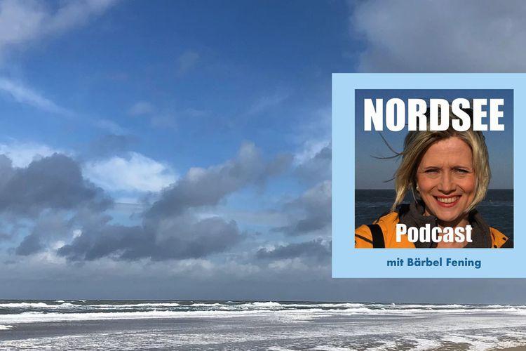 Cover Nordsee Podcast mit einem Bild von Bärbel Fening
